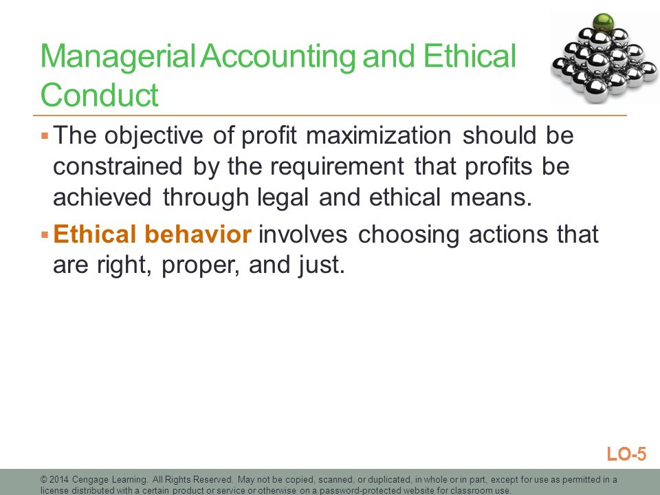 current ethical issues in managerial accounting Under the current economic circumstances,  some studies have analyzed the change in attitudes towards ethical issues  ethics in management accounting.