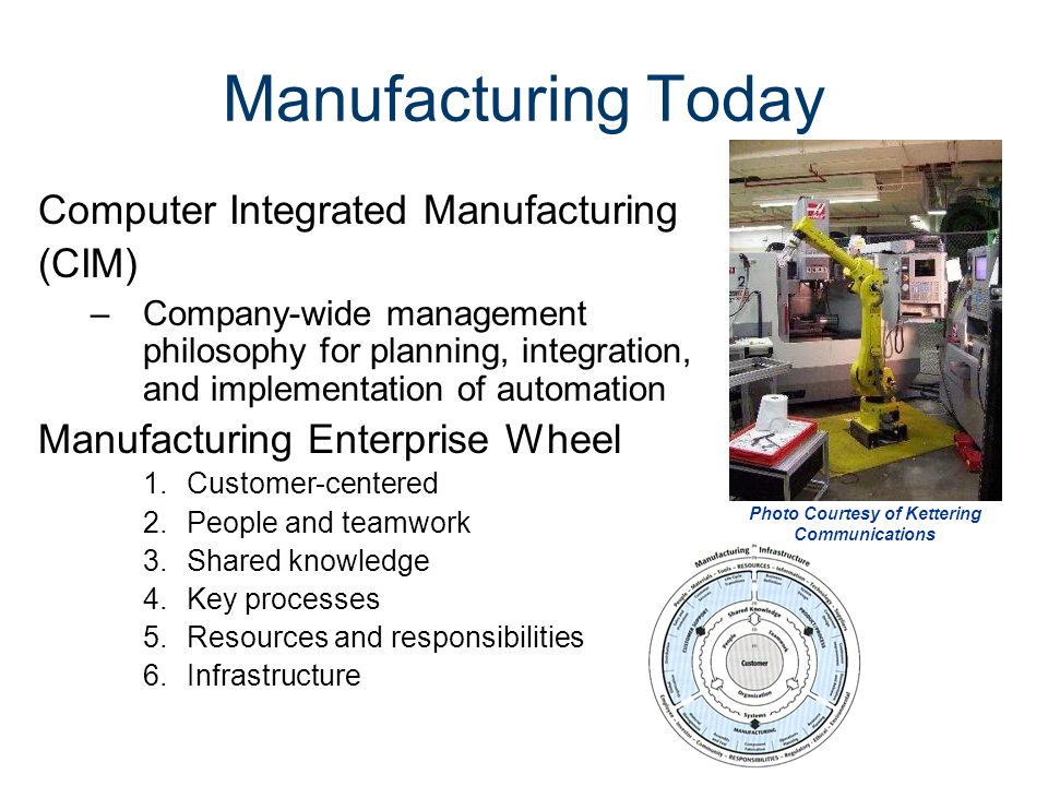 History of Manufacturing - ppt video online download