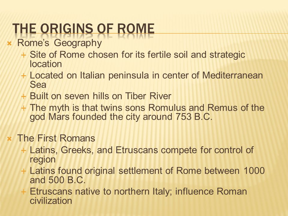 how was romes geography different from that of greece