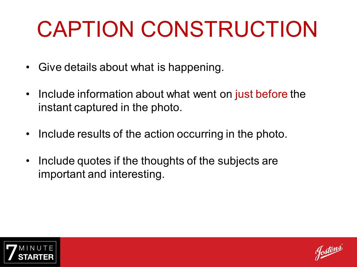 4 4 | Caption Writing  - ppt video online download