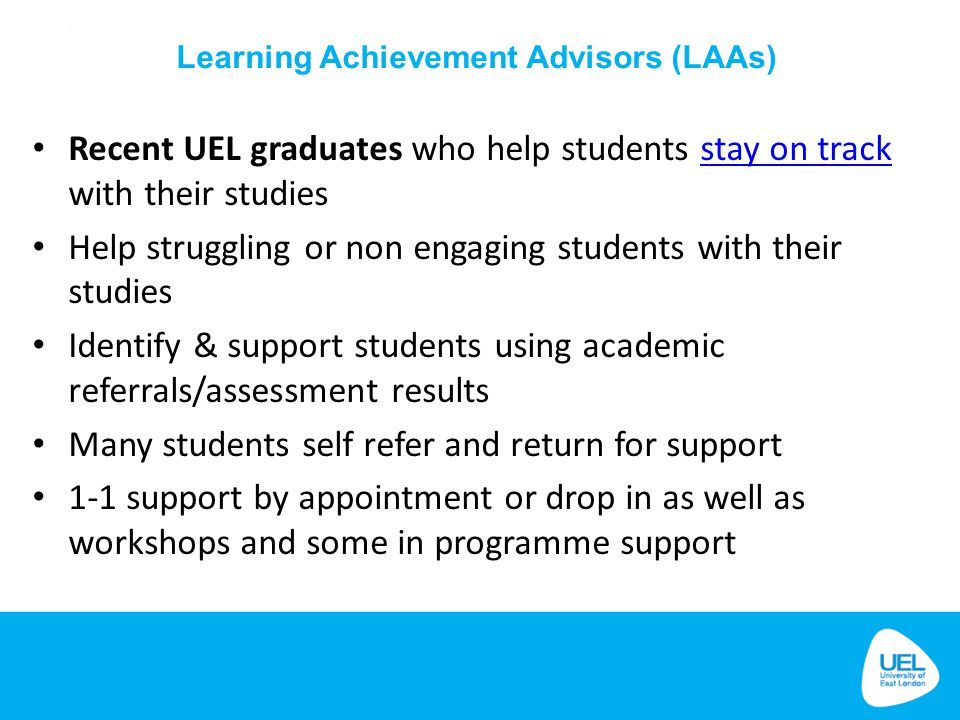 Help struggling or non engaging students with their studies