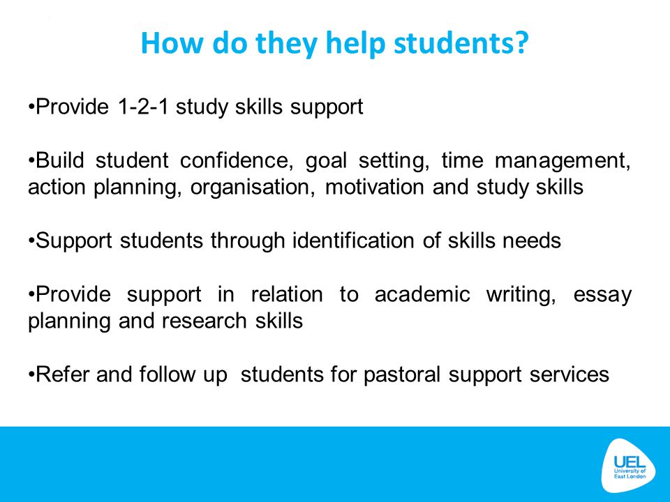 How do they help students