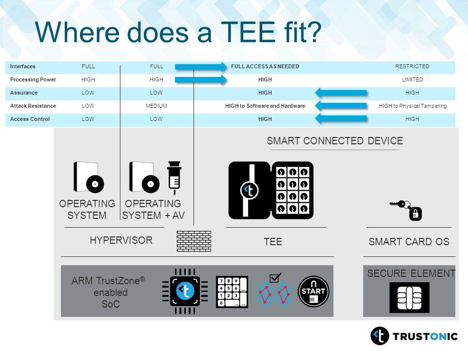 Web Cryptography & Utilizing ARM TrustZone® based TEE for