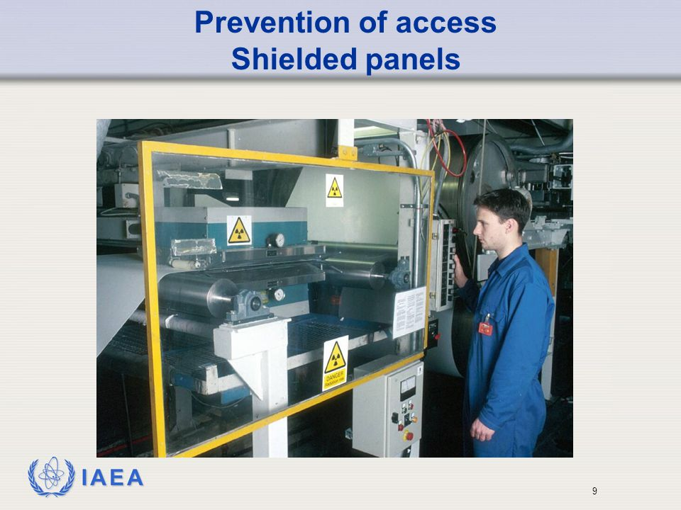 Prevention of access Shielded panels