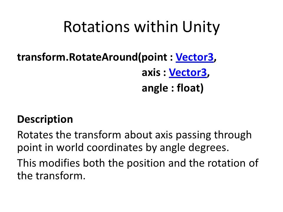 Rotation representation and Interpolation - ppt download