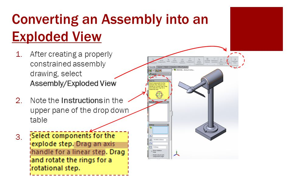 Exploded View Extracting Drawings Ppt Download