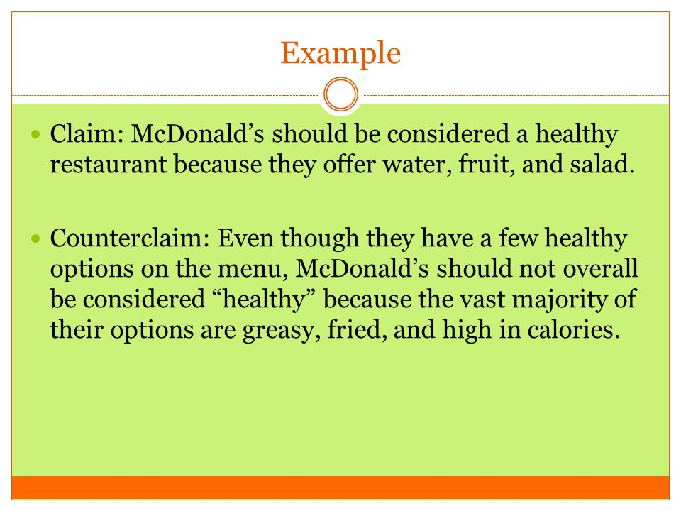Counterclaims Rebuttals Ppt Download
