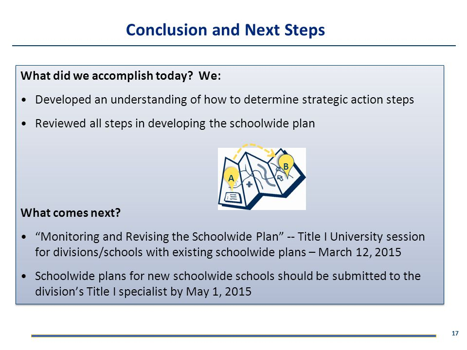 Conclusion and Next Steps