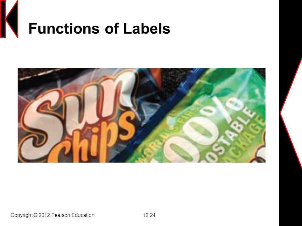 Functions of Labels