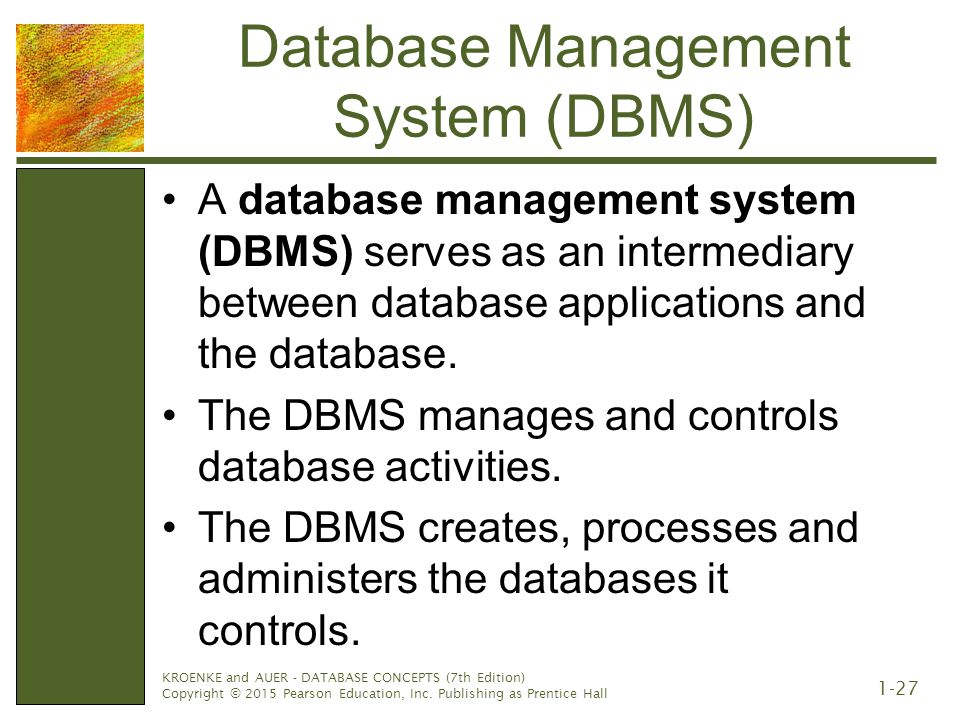 how to create a database management system table
