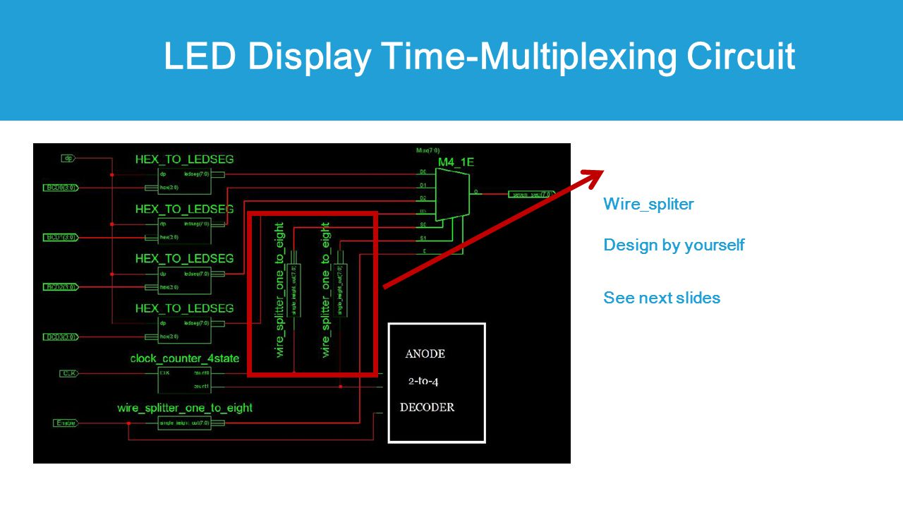 Ee Cs 120a Lab 4 3 Report Due On This Friday 200pm Ppt Video Led Display Circuit Design 15