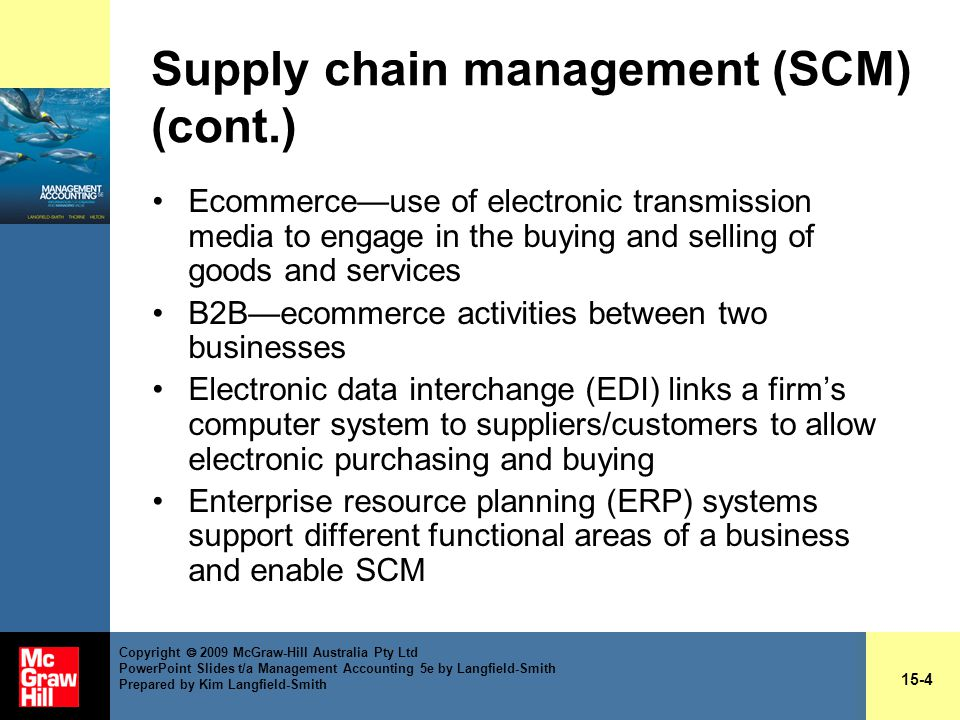 Chapter 15 Managing Suppliers And Customers Ppt Video Online Download