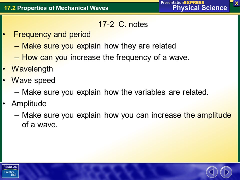 17-2 C  notes Frequency and period - ppt download
