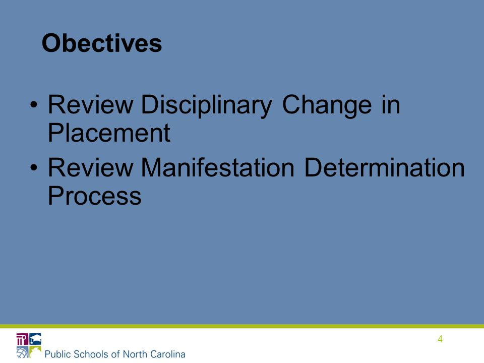 Review Disciplinary Change in Placement