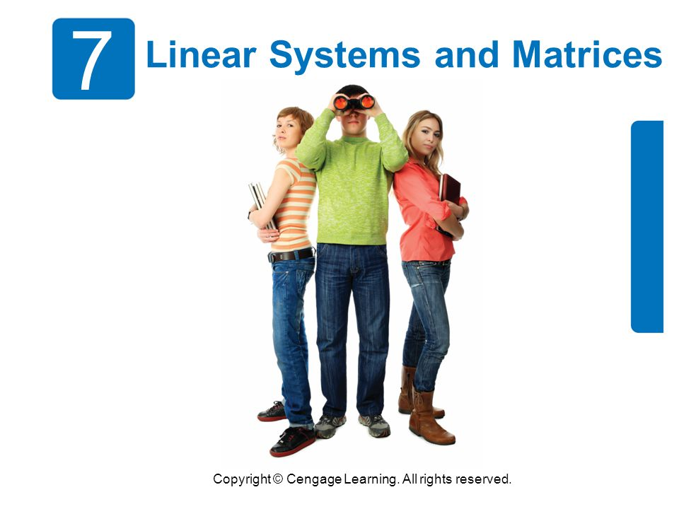 Linear Systems and Matrices