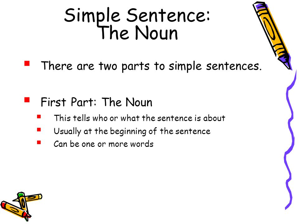 Second Grade: What is a sentence - ppt download