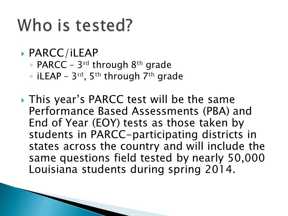 5th Grade Parent Testing Meeting Ppt Video Online Download