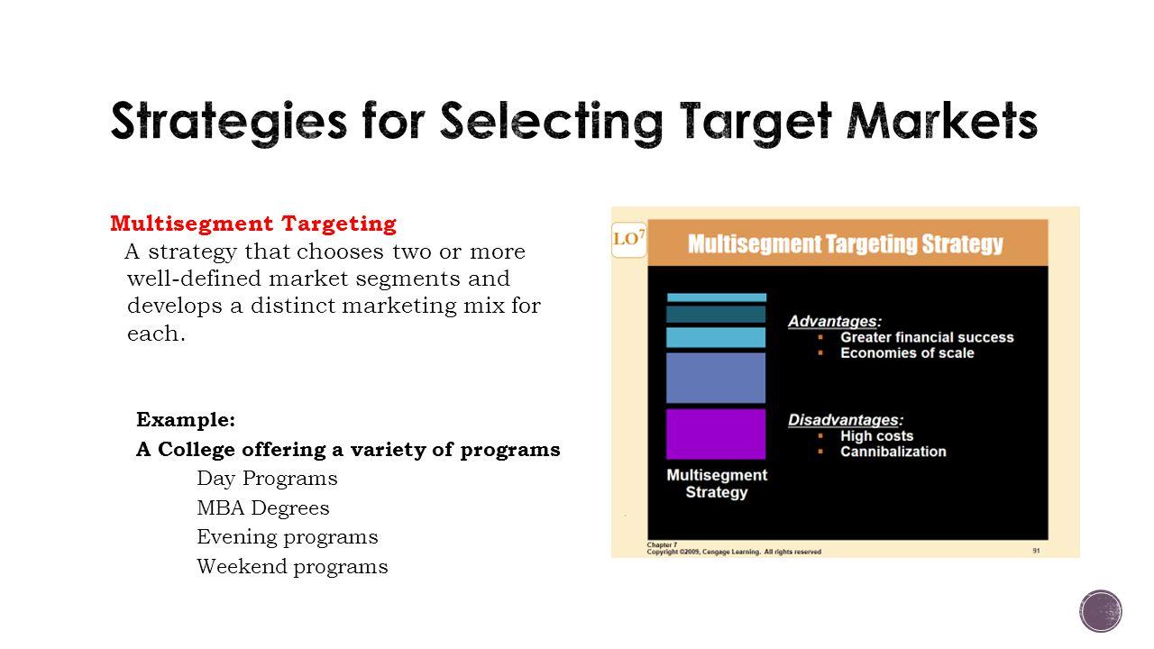 multi segment marketing strategy