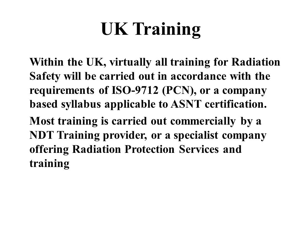 Radiation Safety Training Ppt Video Online Download