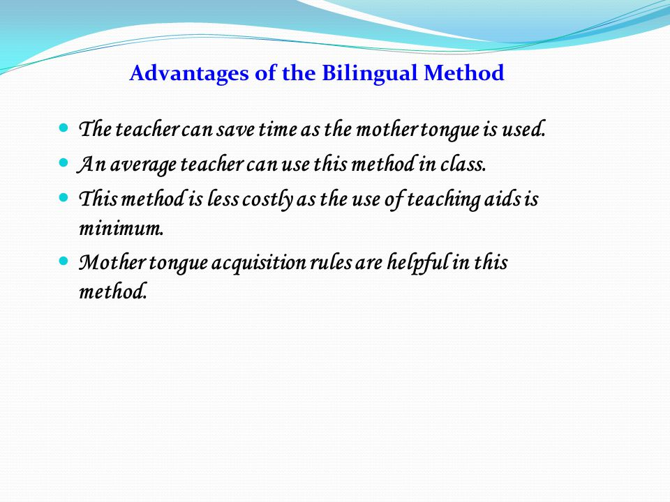advantages of mother tongue in education