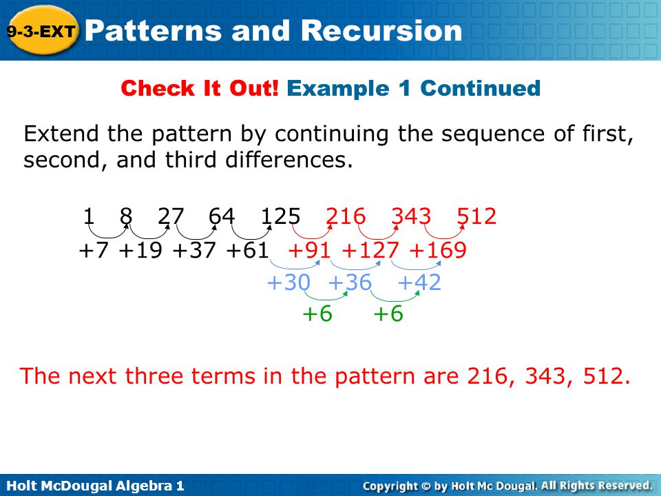 Patterns And Recursion Ppt Video Online Download