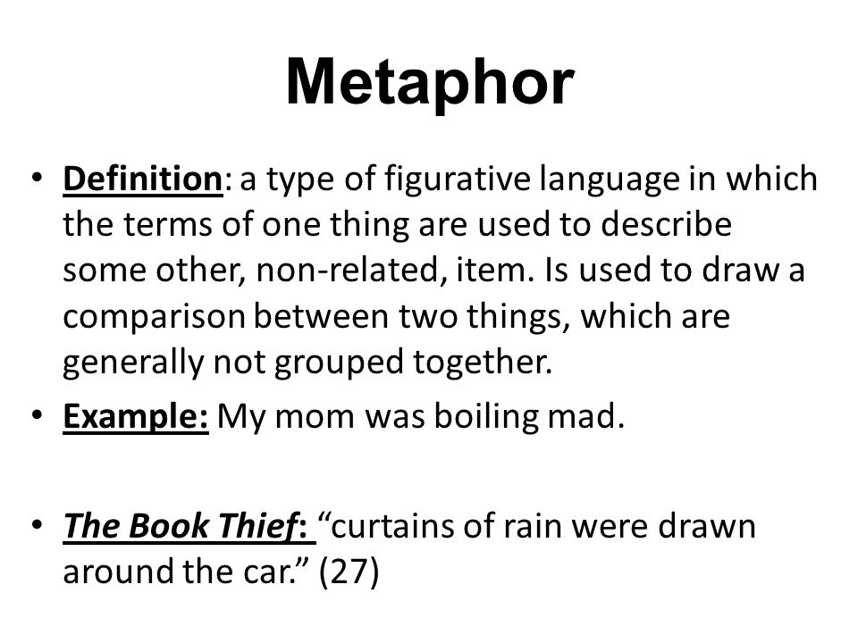 What Is Figurative Language Ppt Video Online Download