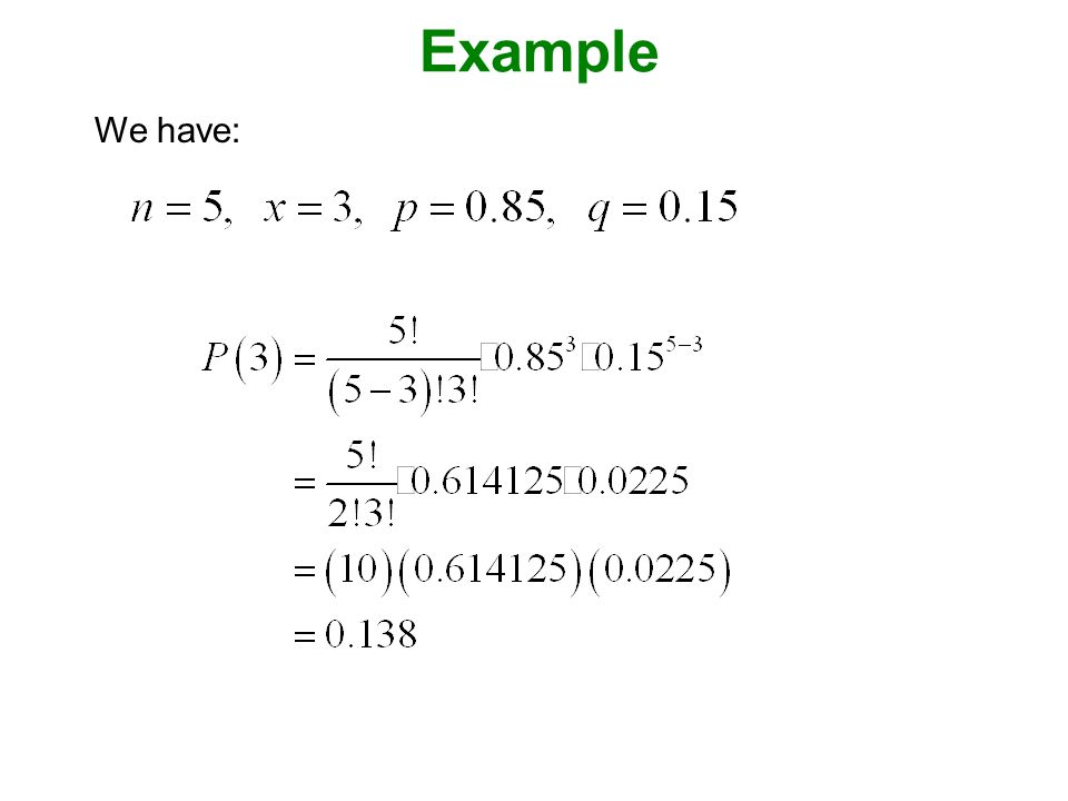Example We have: Page 216 of Elementary Statistics, 10th Edition.