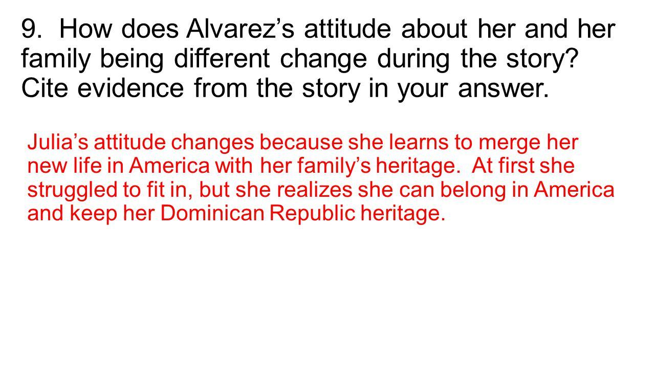 snow by julia alvarez answers