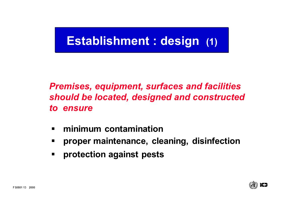 Establishment : design (1)