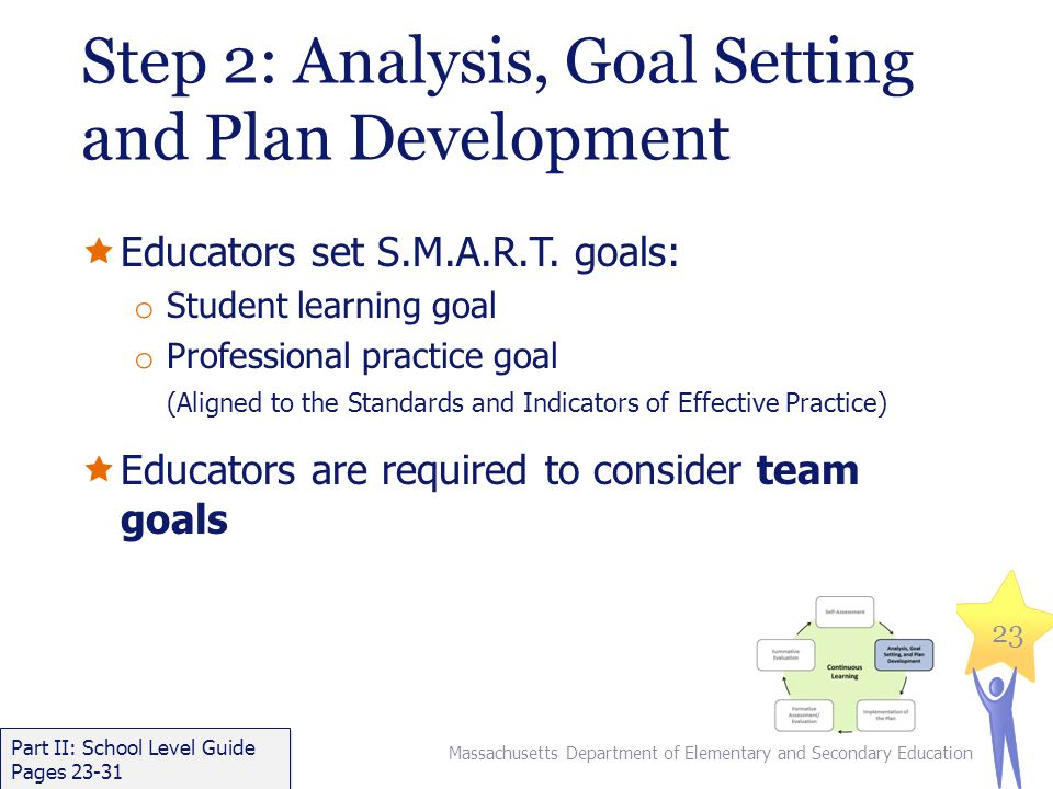 Step 2: Analysis, Goal Setting and Plan Development