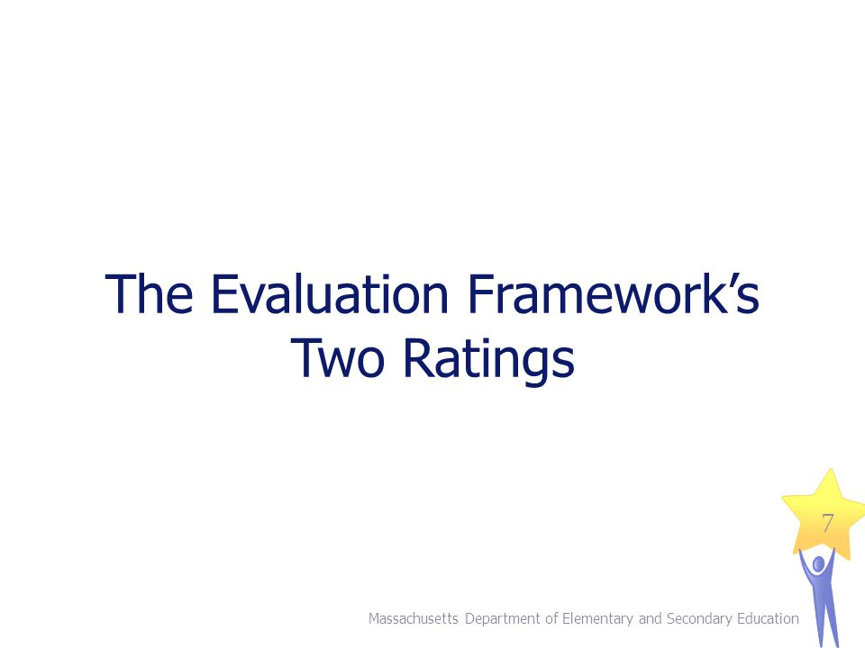 The Evaluation Framework's Two Ratings