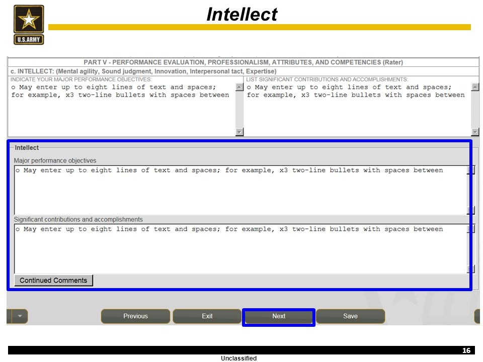 Evaluation Entry System Overview Ncoer Support Form Ppt Video