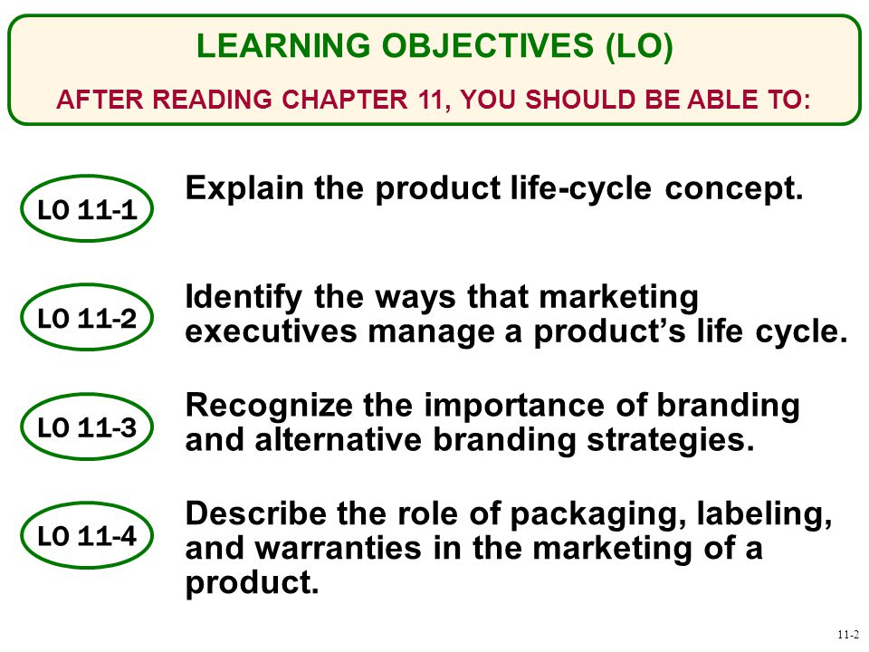 importance of product life cycle pdf