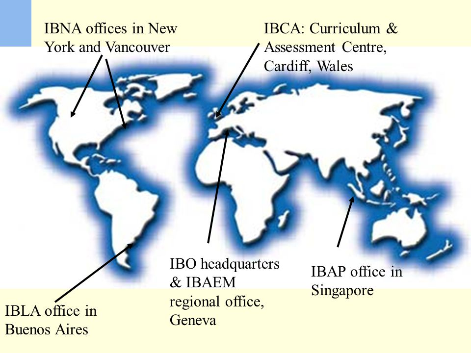 IBNA offices in New York and Vancouver