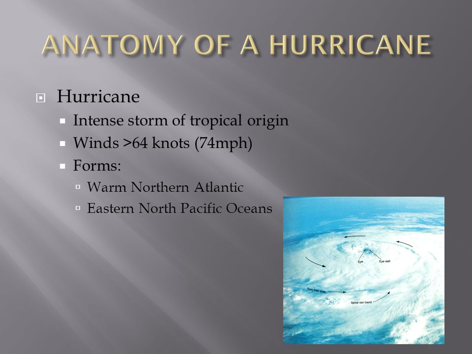 Chapter 11 Hurricanes Ppt Download