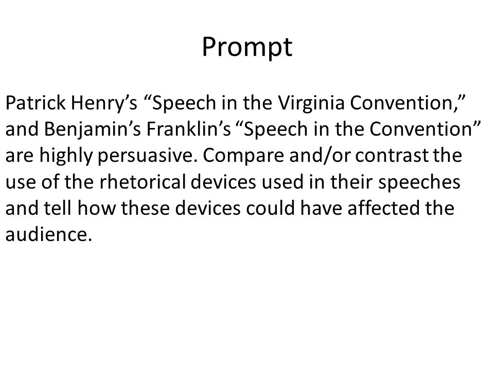 persuasive speech devices