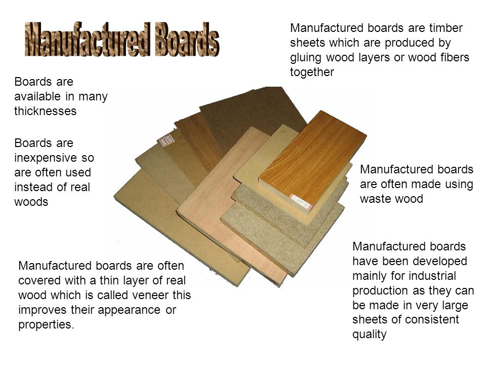 Softwoods Hardwoods And Manufactured Boards Ppt Video