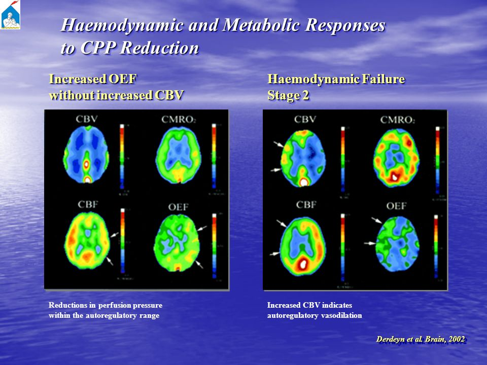 Haemodynamic and Metabolic Responses to CPP Reduction