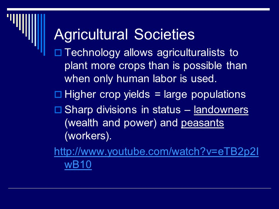 Agricultural Societies