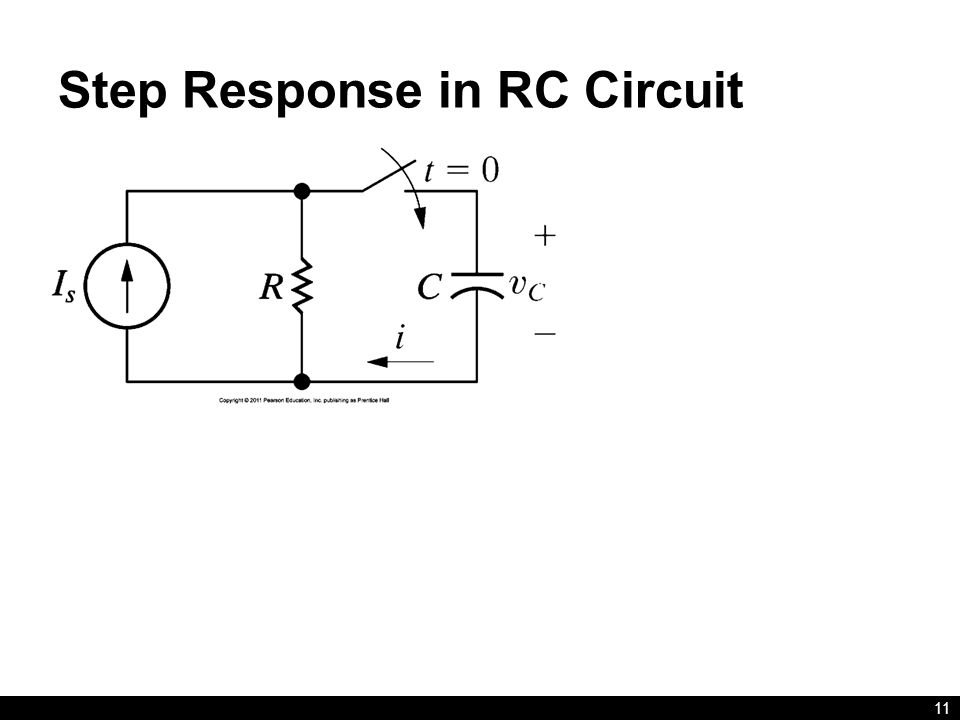 Step Response in RC Circuit