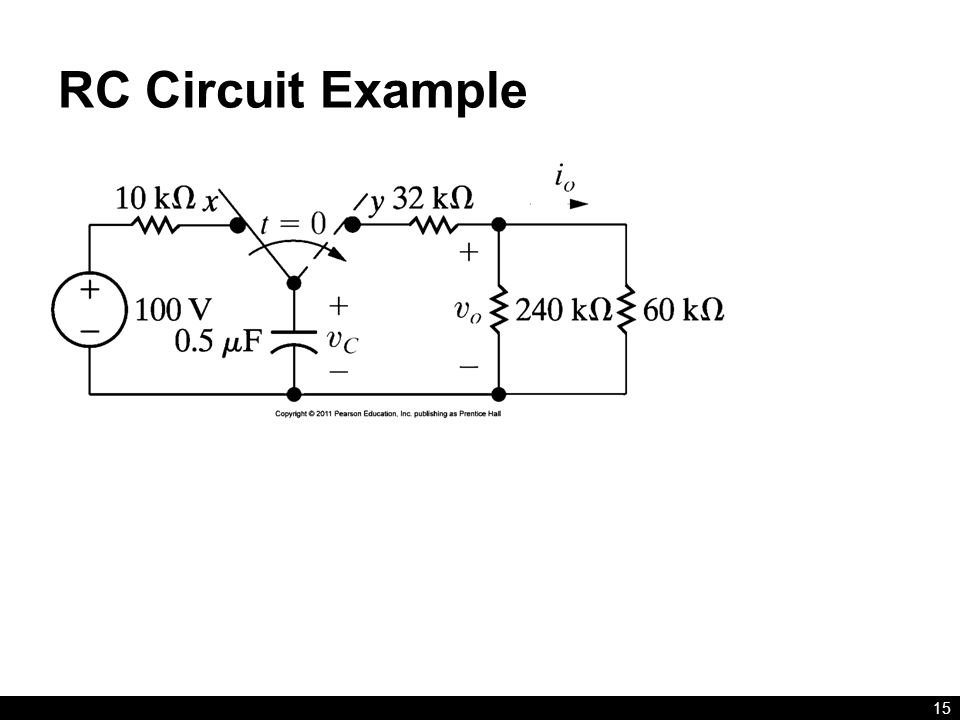 RC Circuit Example