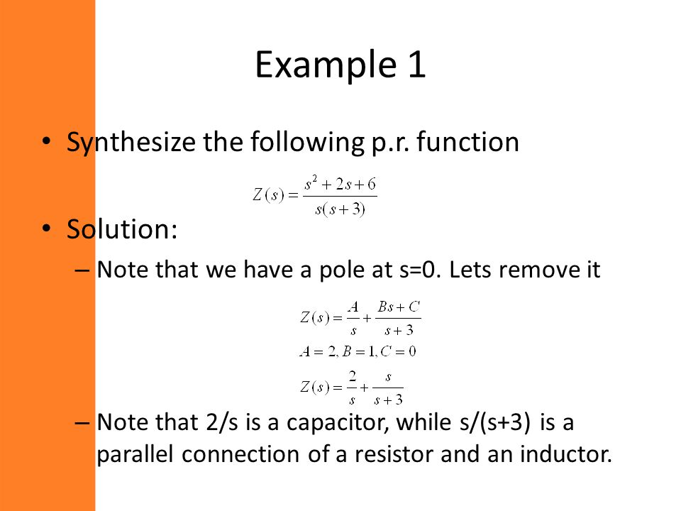 which is an example of synthesis