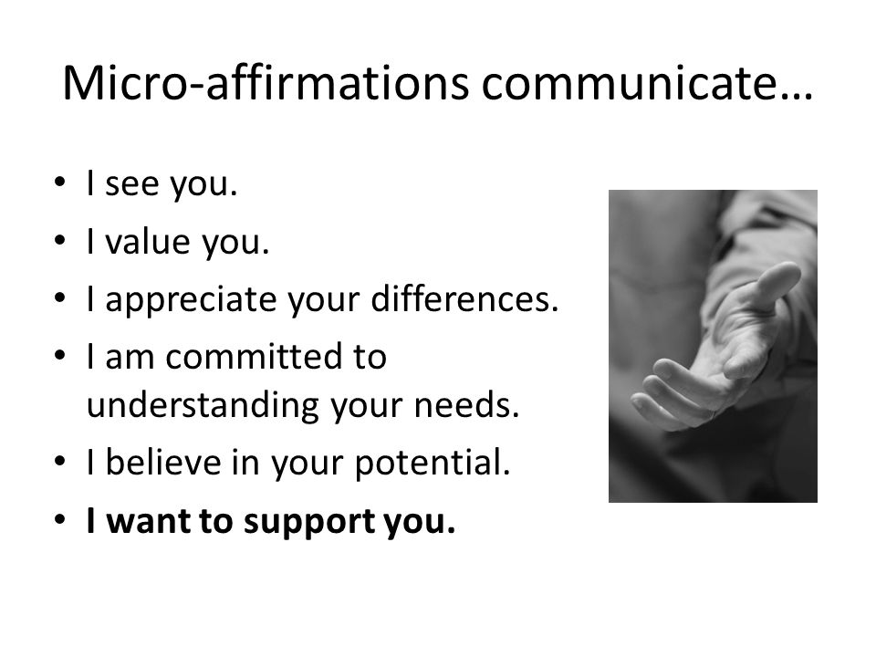 affirmation examples for students