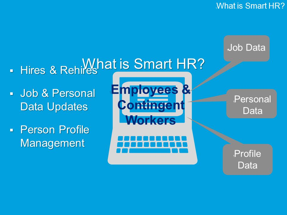Smart HR Need a subtitle Presented by Marc Levinson & Swetha Lingala ...