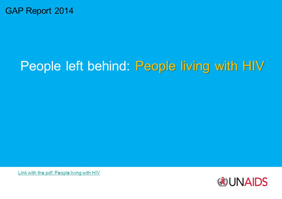People left behind: People living with HIV