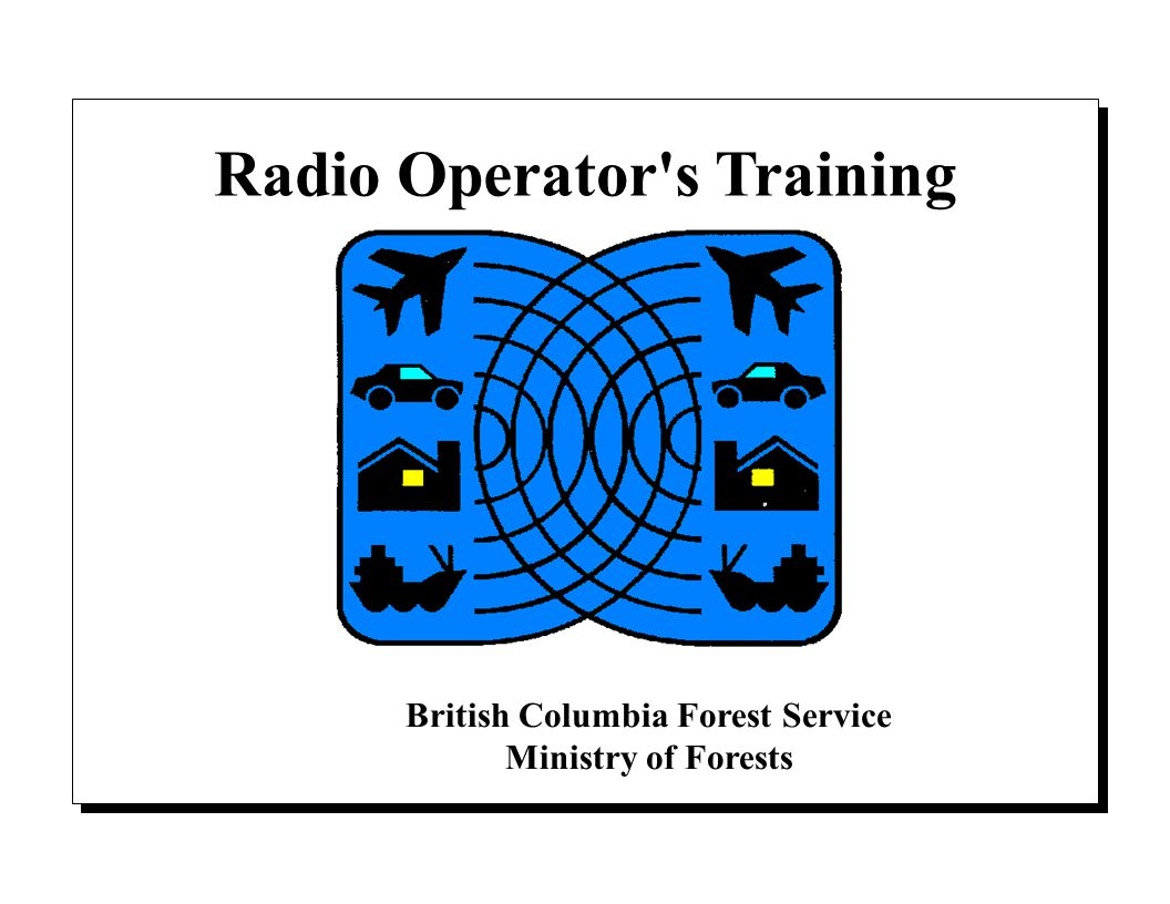 Radio Operator's Training - ppt download