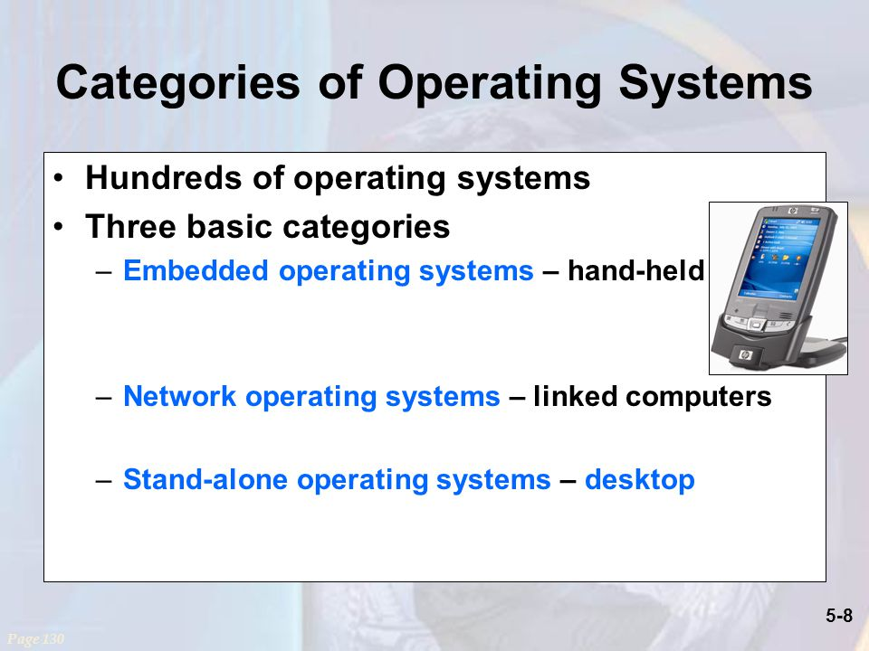 Categories of Operating Systems
