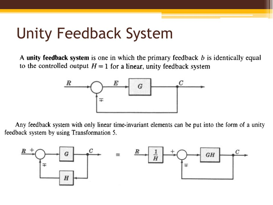 Block diagram fundamentals reduction techniques ppt video online 24 unity feedback system ccuart Image collections