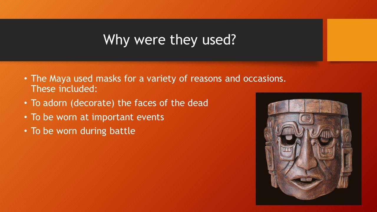 l o  to design and make a mayan mask