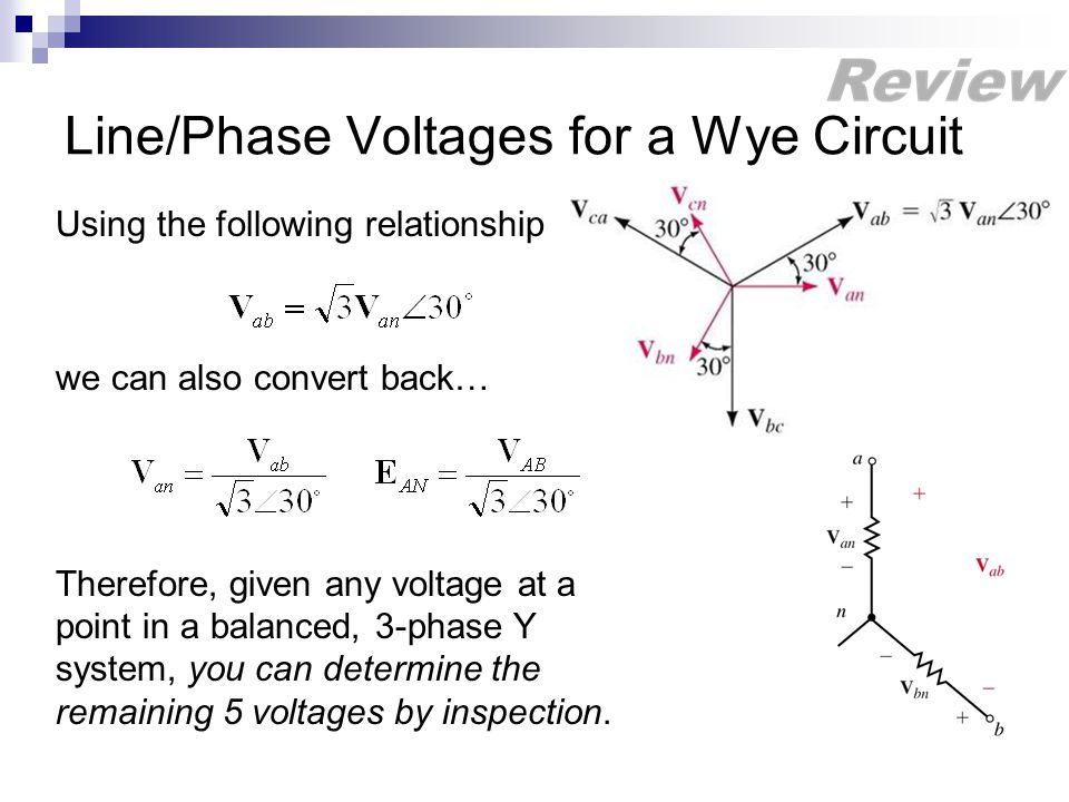 Lesson 35 Per Phase Analysis - ppt download